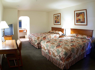 WELCOME TO PREMIER INNS THOUSAND OAKS - DOUBLE QUEEN ROOM