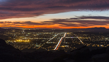 SIMI VALLEY AT NIGHT